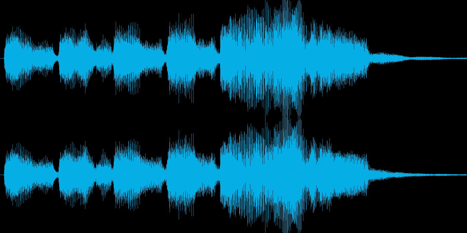ゲームのファンファーレです。敵を倒した…の再生済みの波形