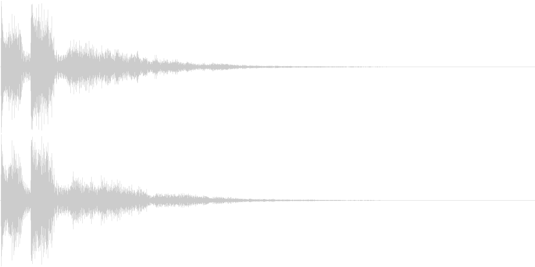 ピュピュン(決定音、アプリ、ゲーム等に)の未再生の波形