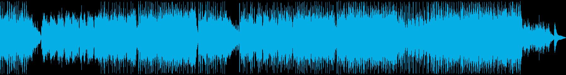 和風な哀愁に満ちたバラード4の再生済みの波形