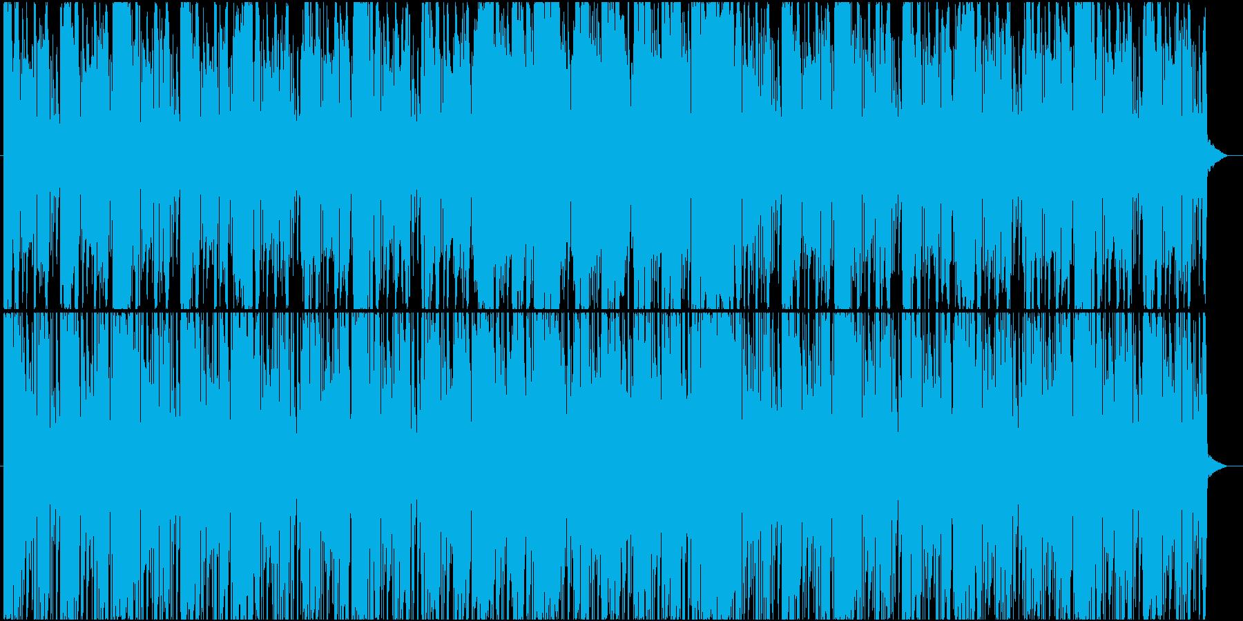 疾走感のある戦闘系エレクトロニカの再生済みの波形