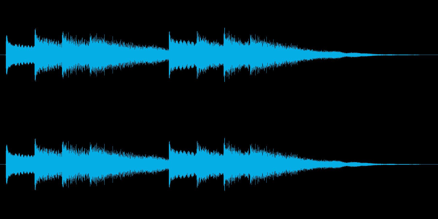 【チャイム 学校03-05】の再生済みの波形