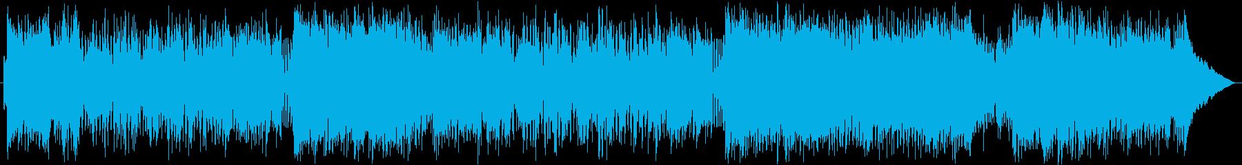 エンディング、スタッフロールなどに合い…の再生済みの波形