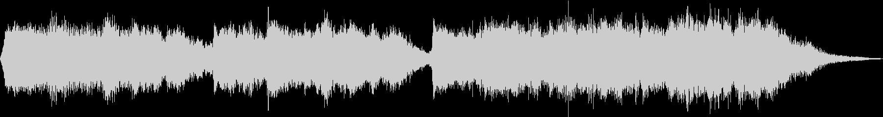 筝と和鈴がしみ入る「さくらさくら」編曲の未再生の波形