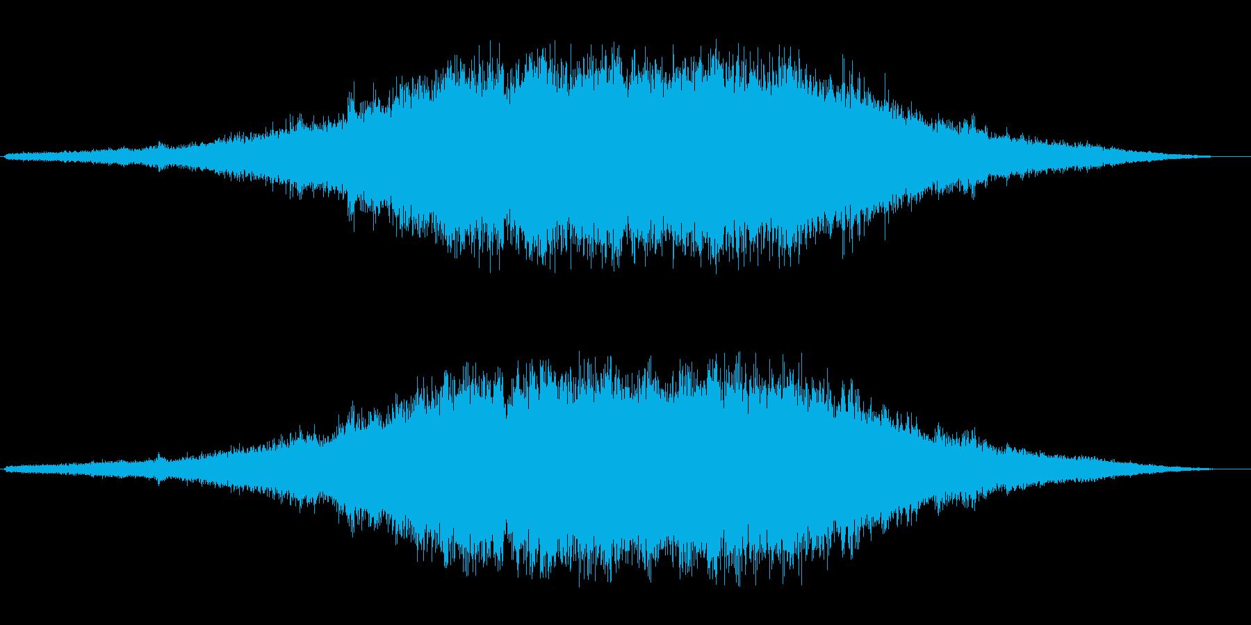 キーン(キラキラ系)の再生済みの波形