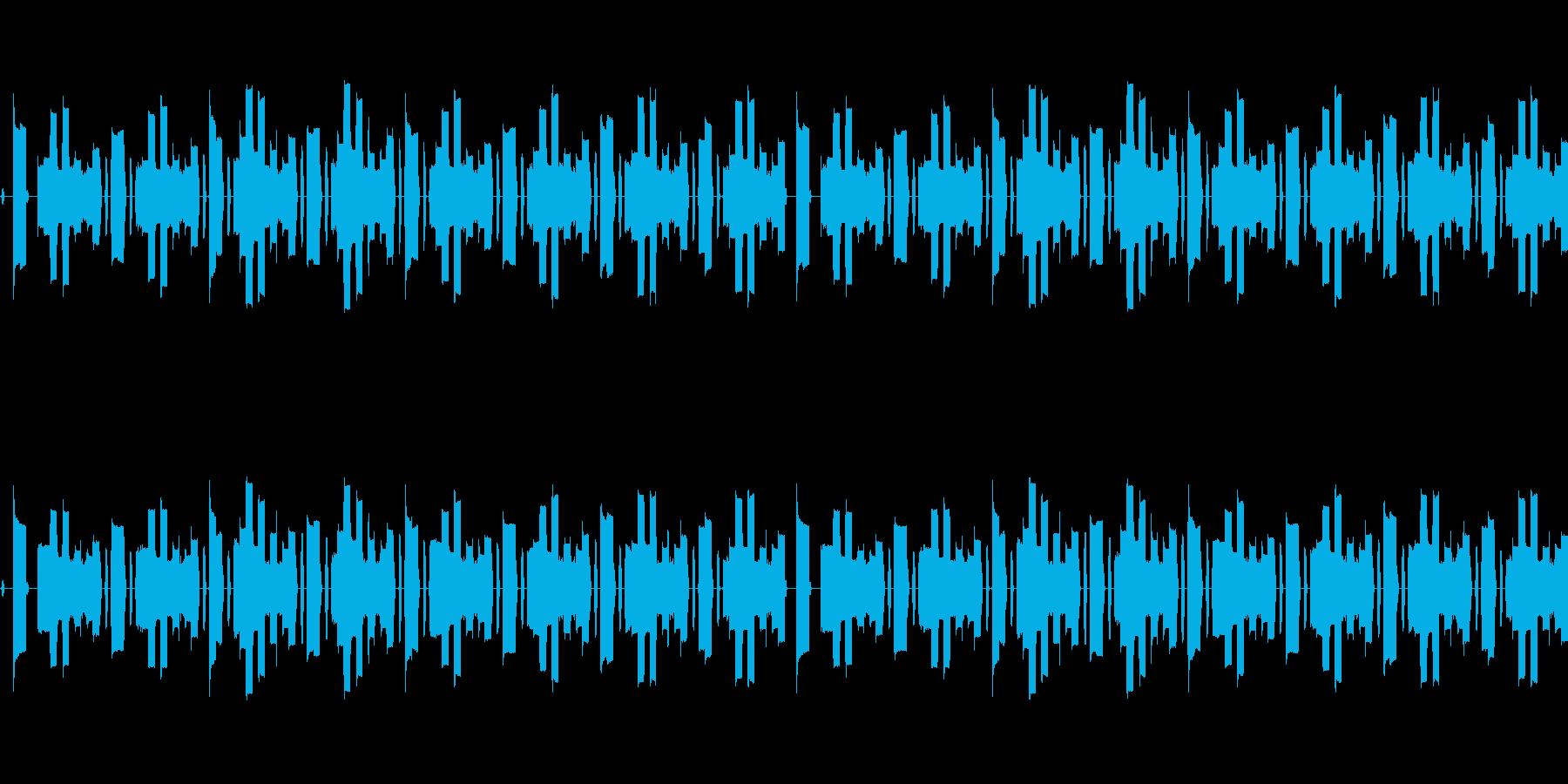 【サイバー機械的シンセメインのインスト】の再生済みの波形