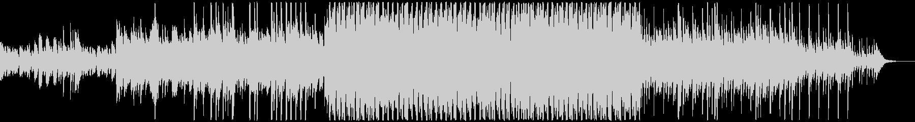黒板とチョークのリズムにピアノの感動的曲の未再生の波形