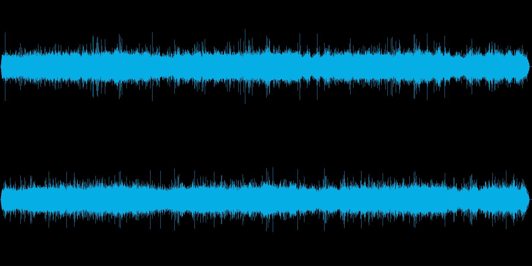 『雨の日』の低音をカットしたバージョン…の再生済みの波形