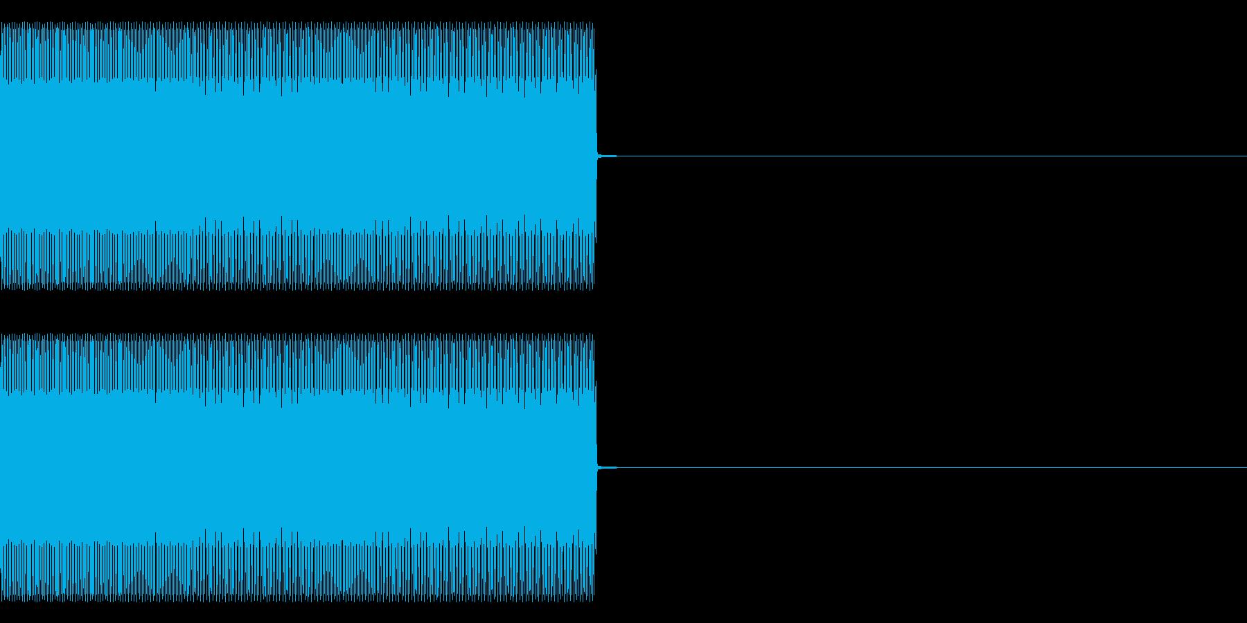 ティーロリロリーの再生済みの波形