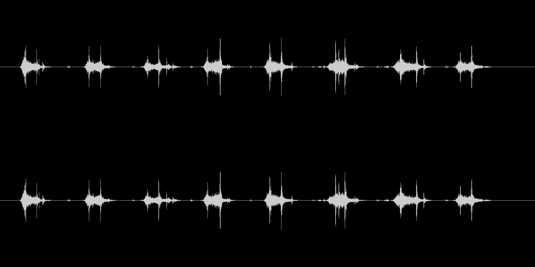 【本02-2(めくる)】の未再生の波形