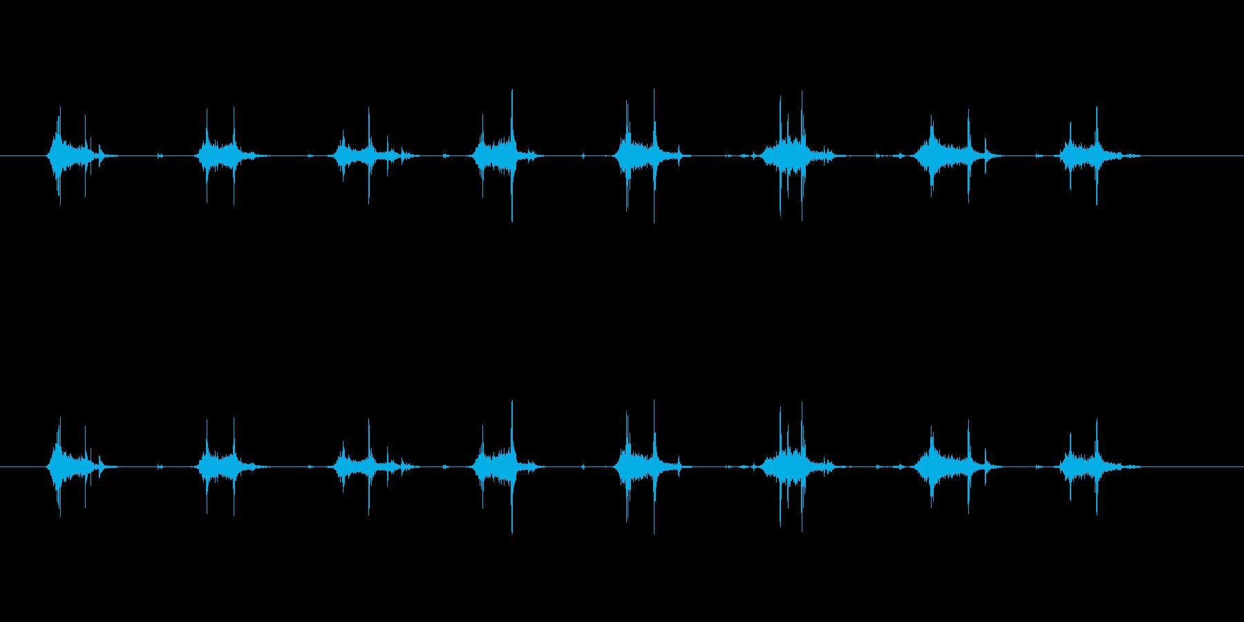 【本02-2(めくる)】の再生済みの波形