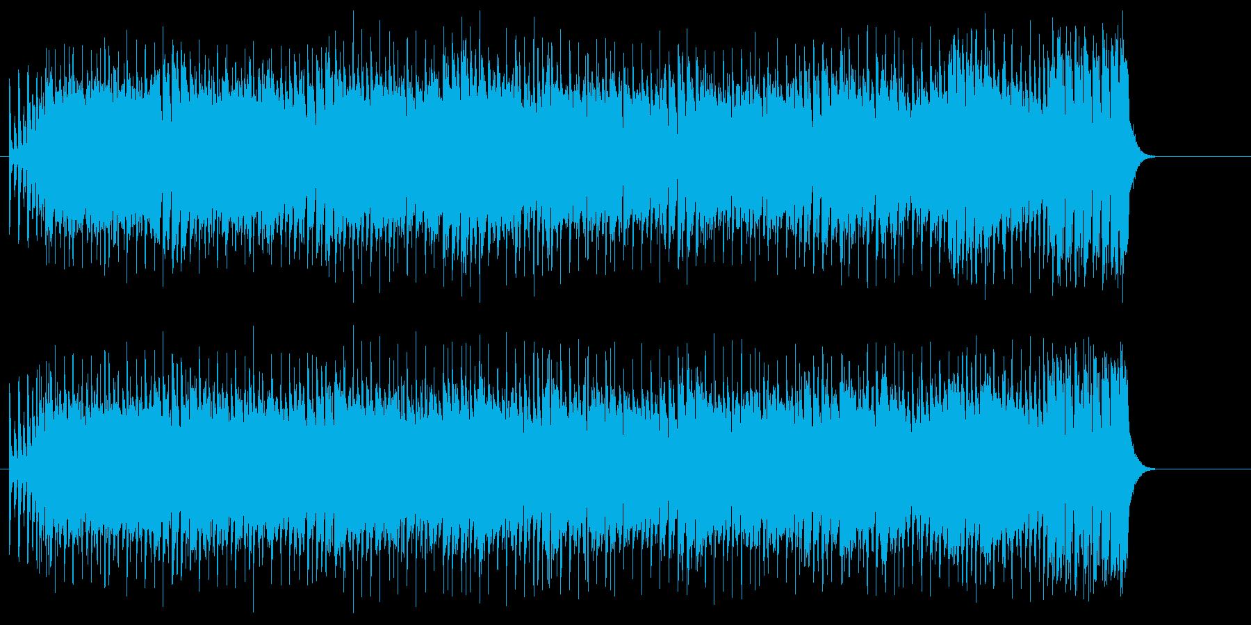 コミカルな弾むリズムのバラエティポップスの再生済みの波形
