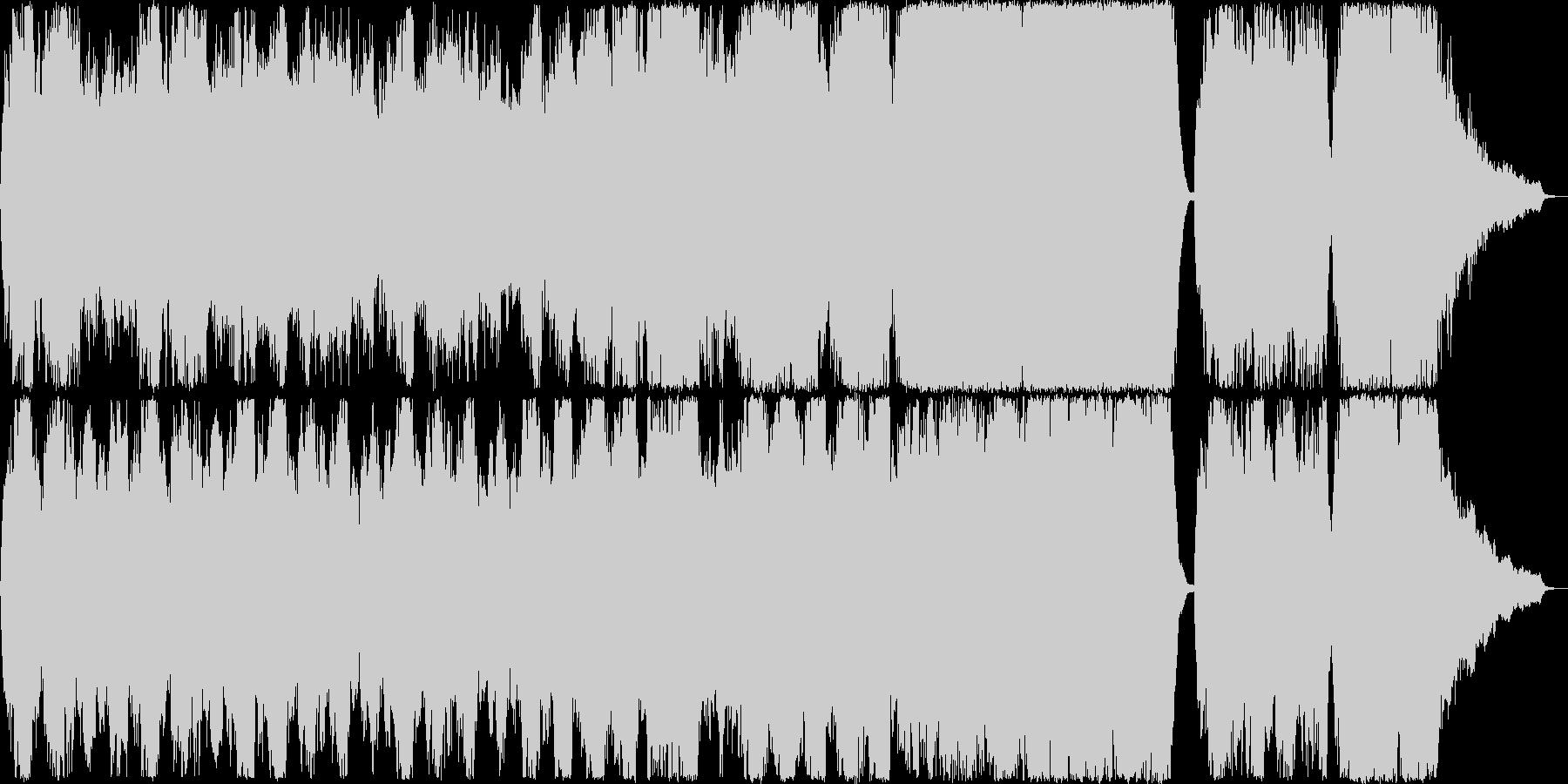 ゆったりとしたストリングスアンサンブル…の未再生の波形