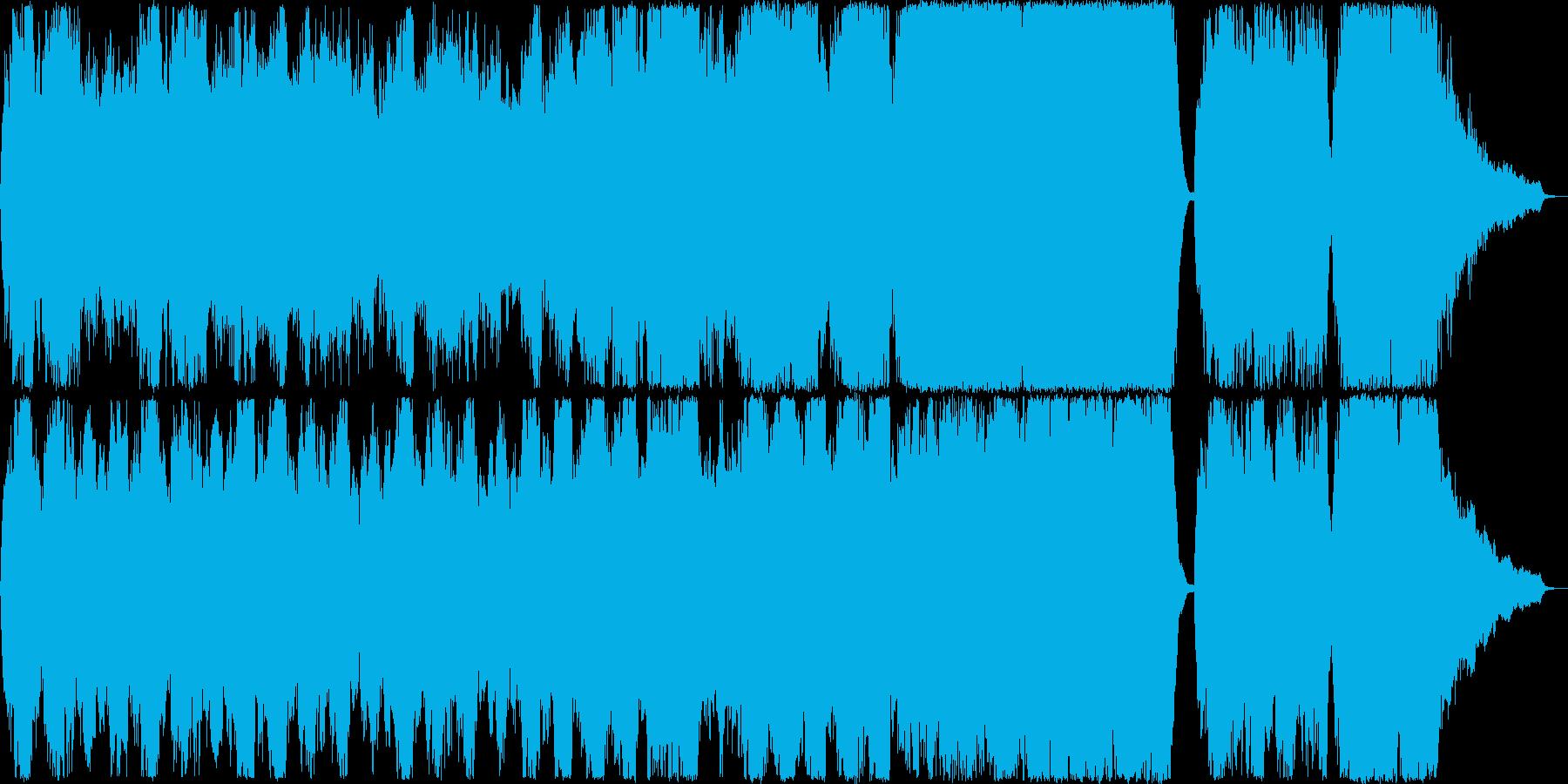 ゆったりとしたストリングスアンサンブル…の再生済みの波形
