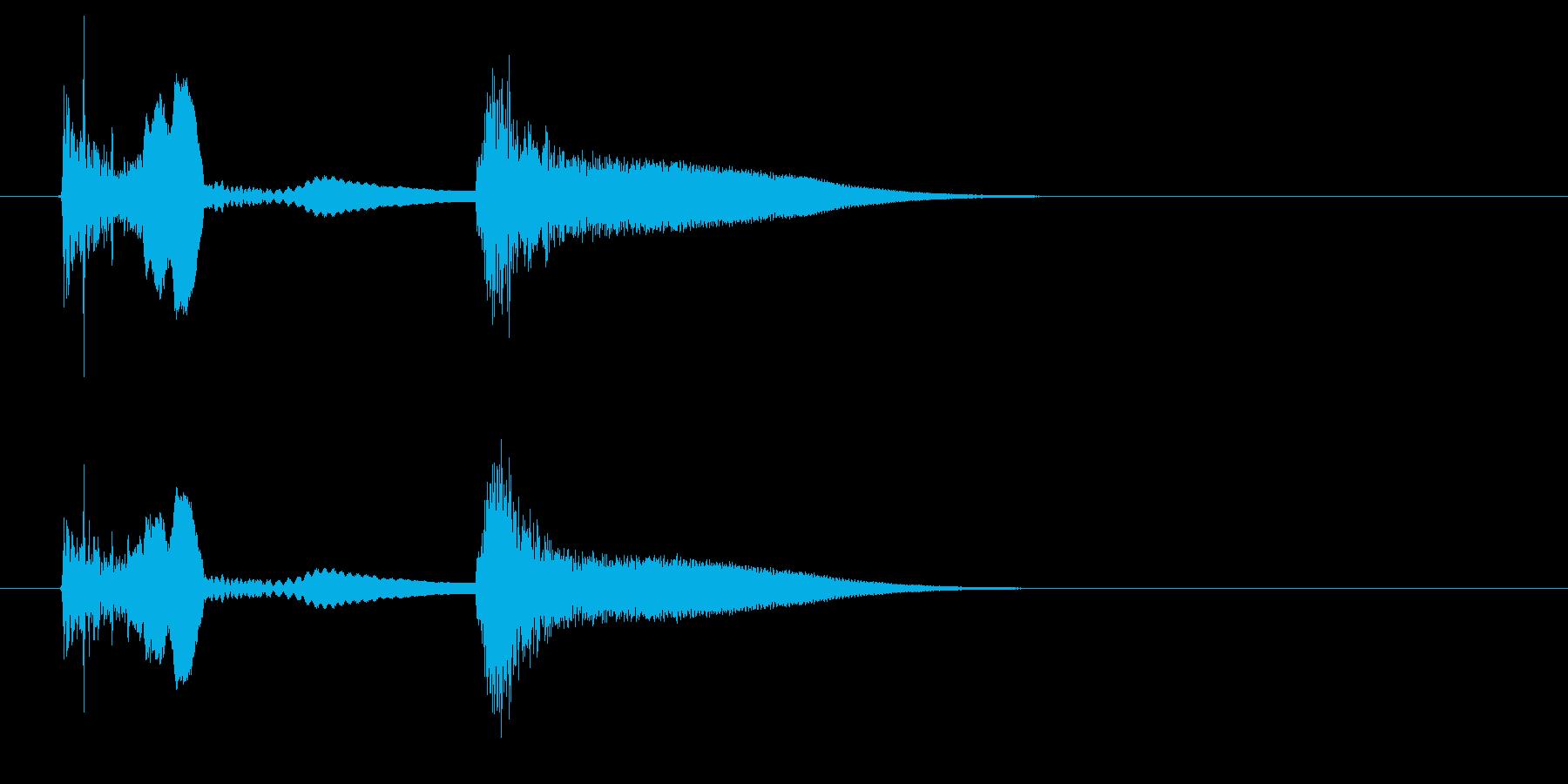 【SE 効果音】ネジが飛ぶ音の再生済みの波形