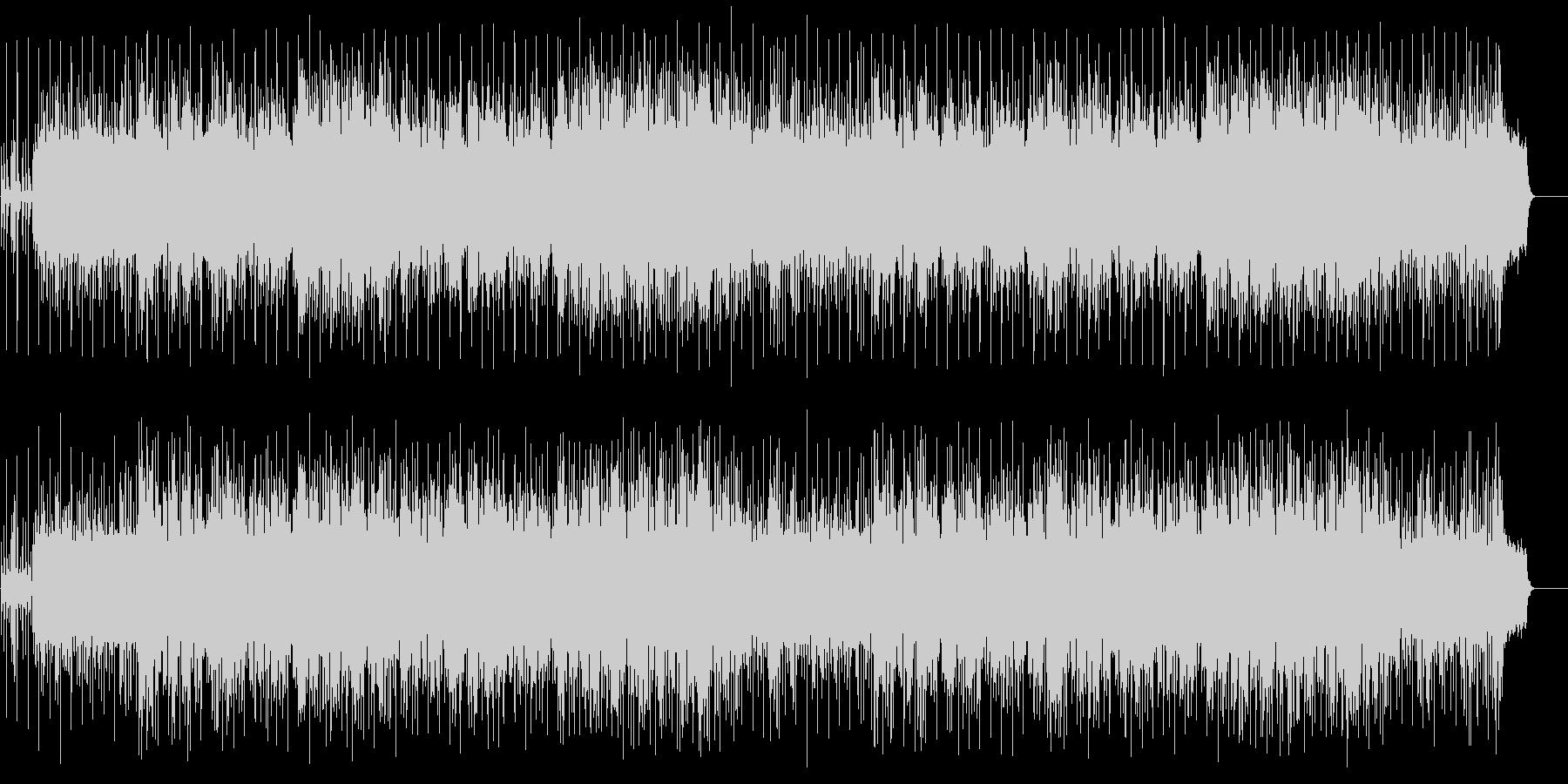 ゆったりしたエンディング(フルサイズ)の未再生の波形