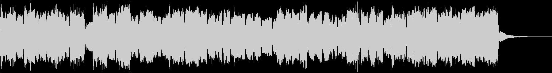 ほのぼのクリスマス、パイプオルガンの小曲の未再生の波形
