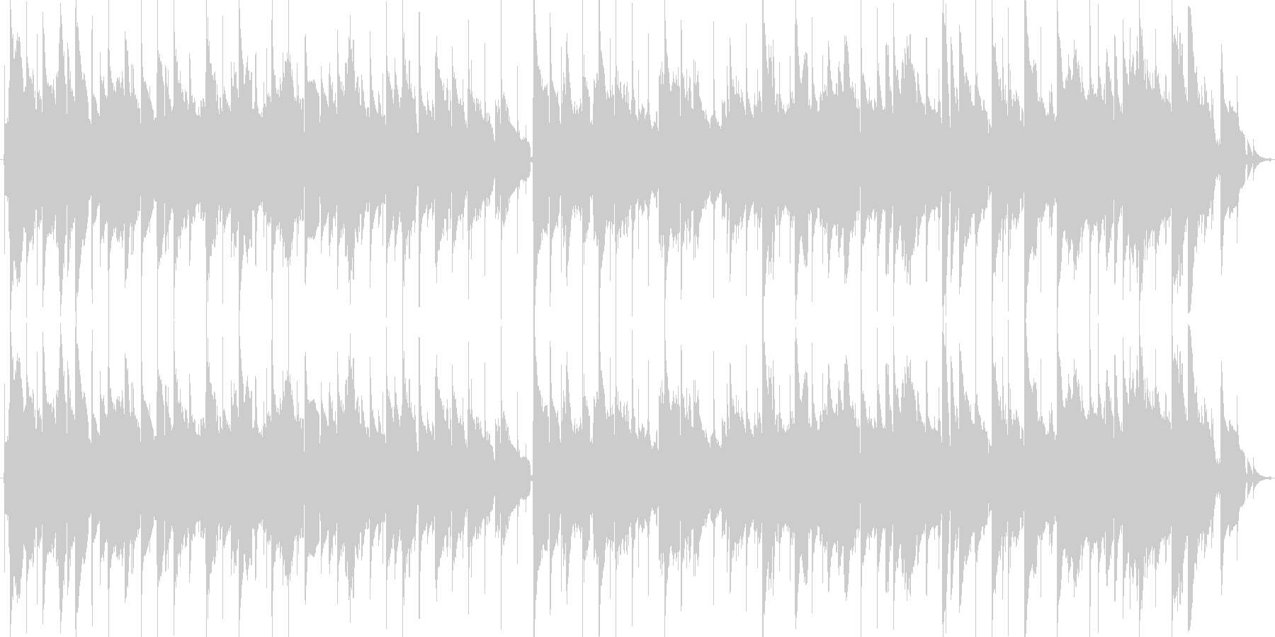 甘く切ないJAZZYなスローバラードの未再生の波形