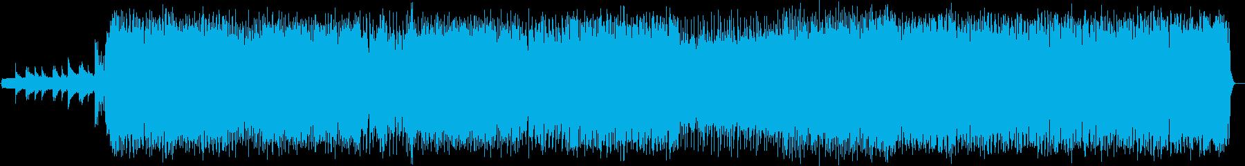 疾走感溢れるシンセが特徴のポップスの再生済みの波形