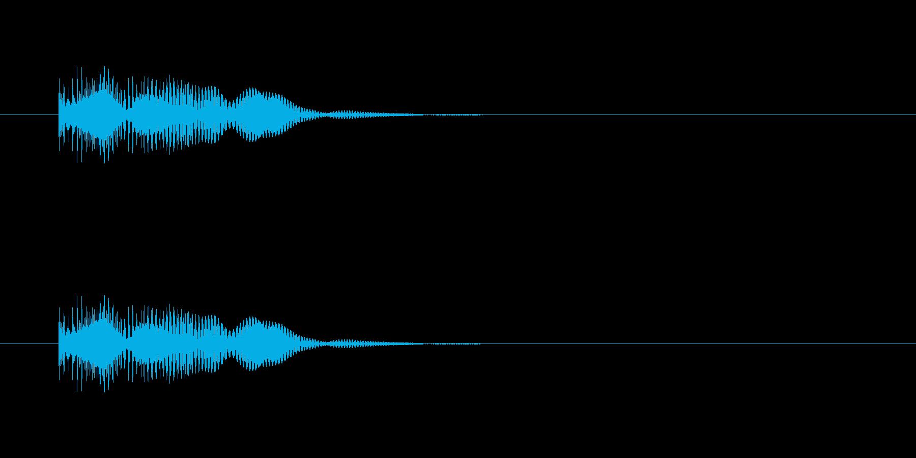 コミカルにハネるの再生済みの波形