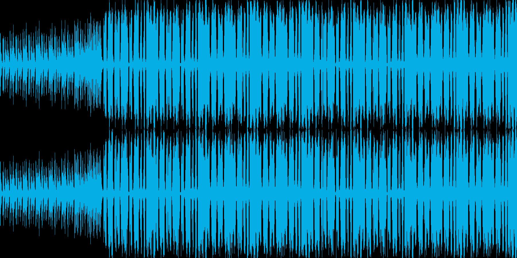 【ダンス/クラブイベントに最適BGM】の再生済みの波形