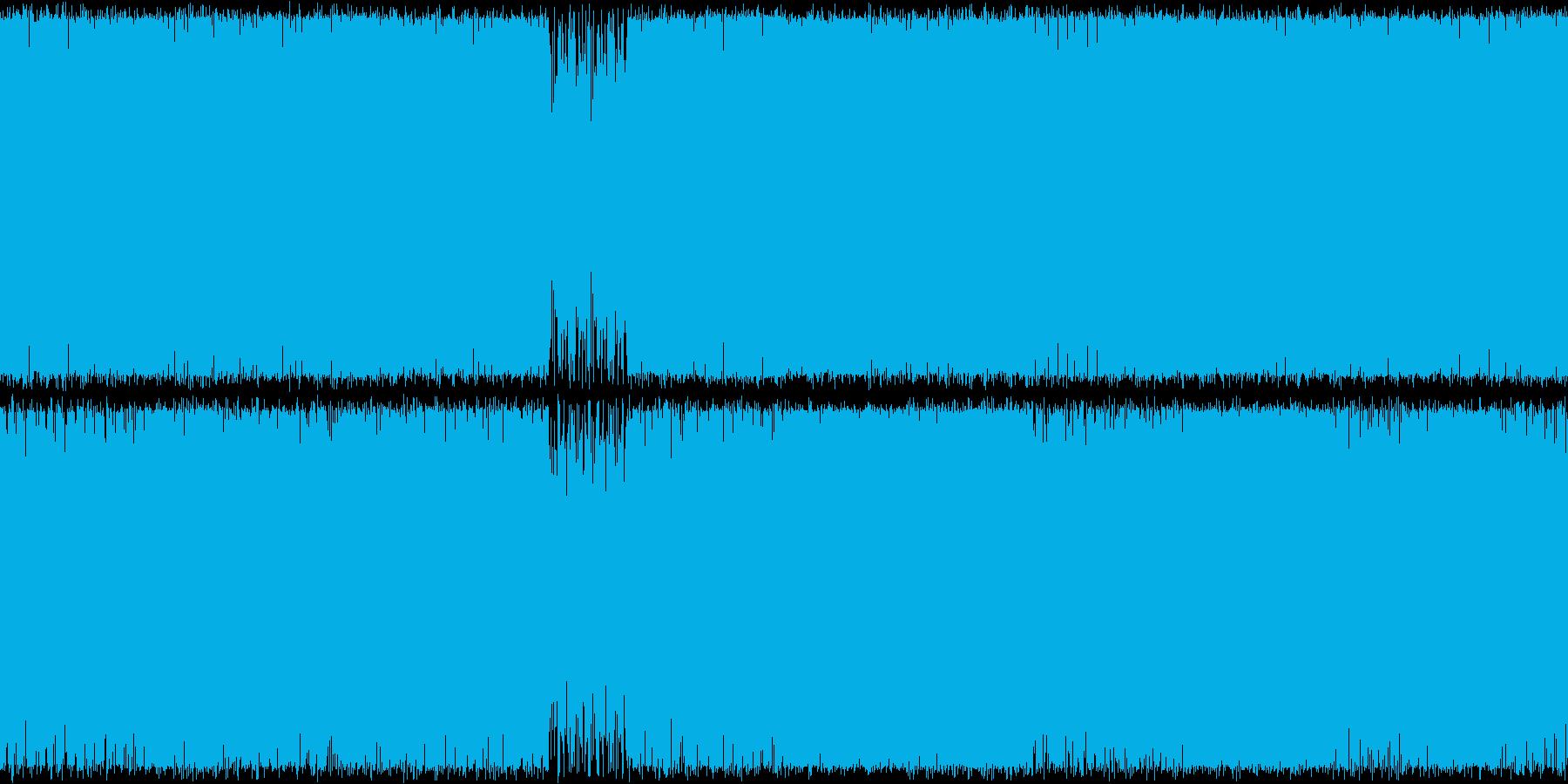 重厚なオーケストラBGM。敵からの逃走…の再生済みの波形