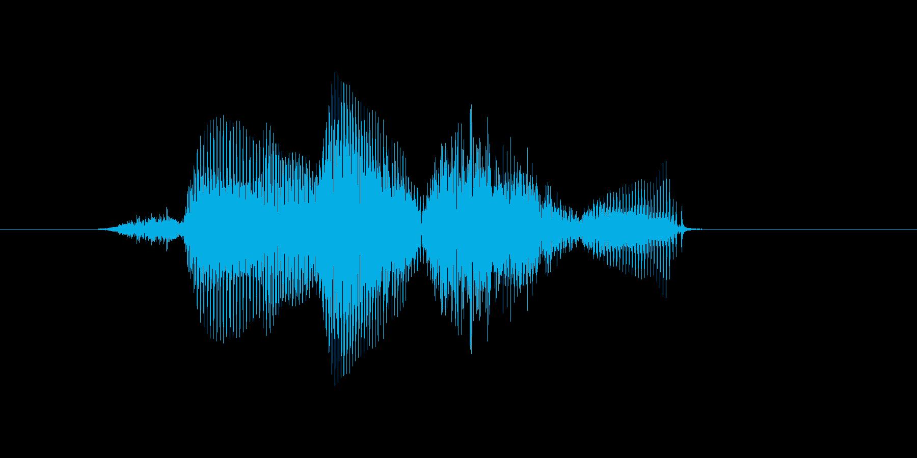 東の再生済みの波形