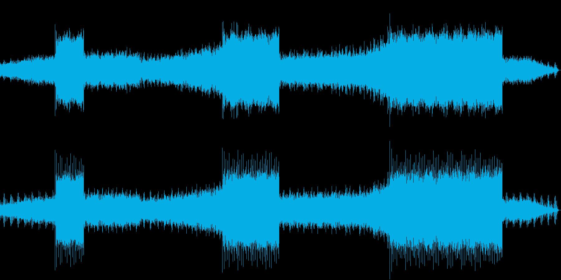 無機質でメロディアスなEDMの再生済みの波形