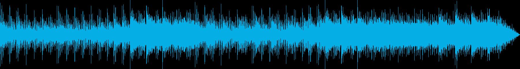 少しトロピカルな感じの曲の再生済みの波形