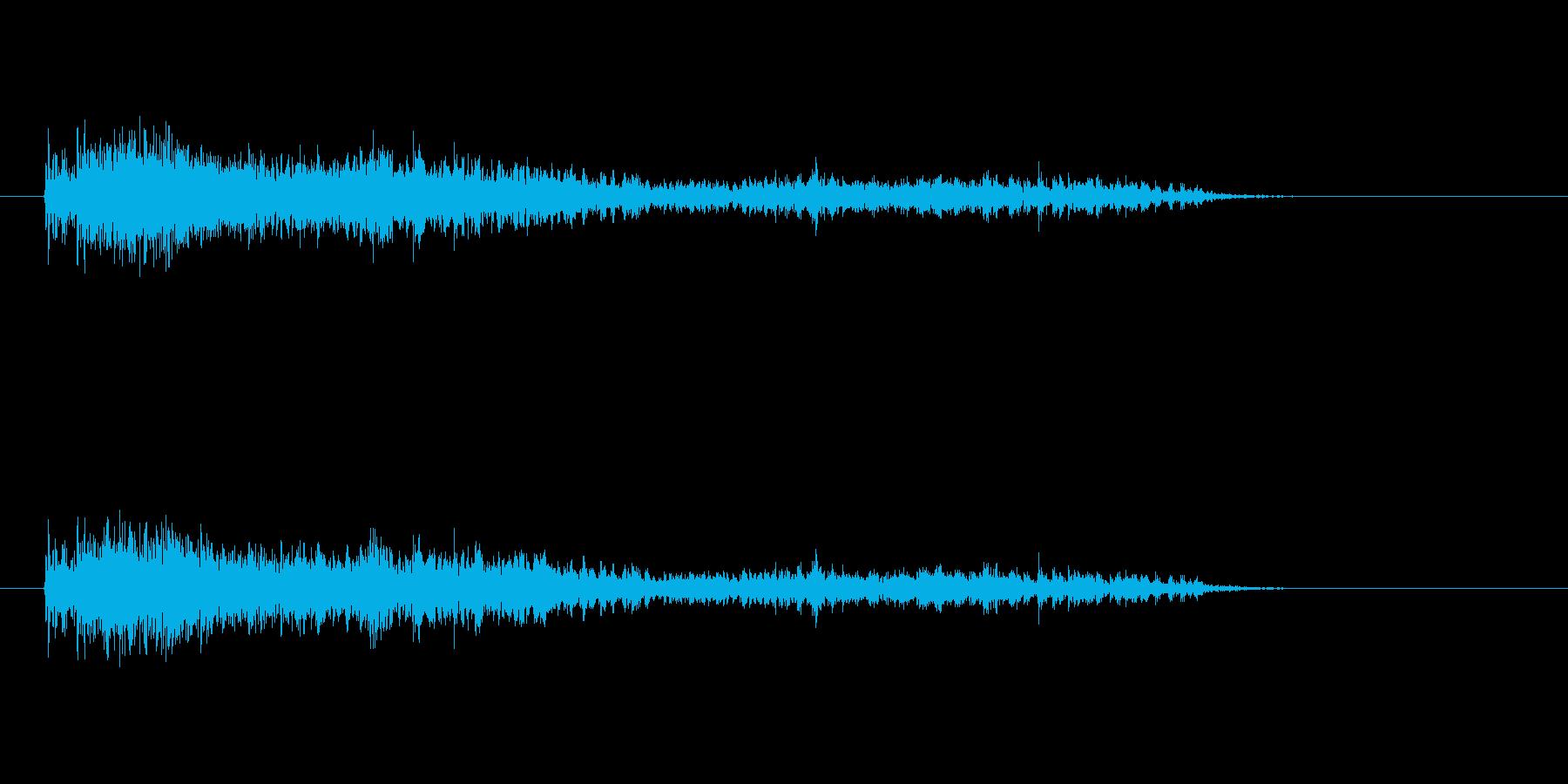 【モンスター01-4】の再生済みの波形