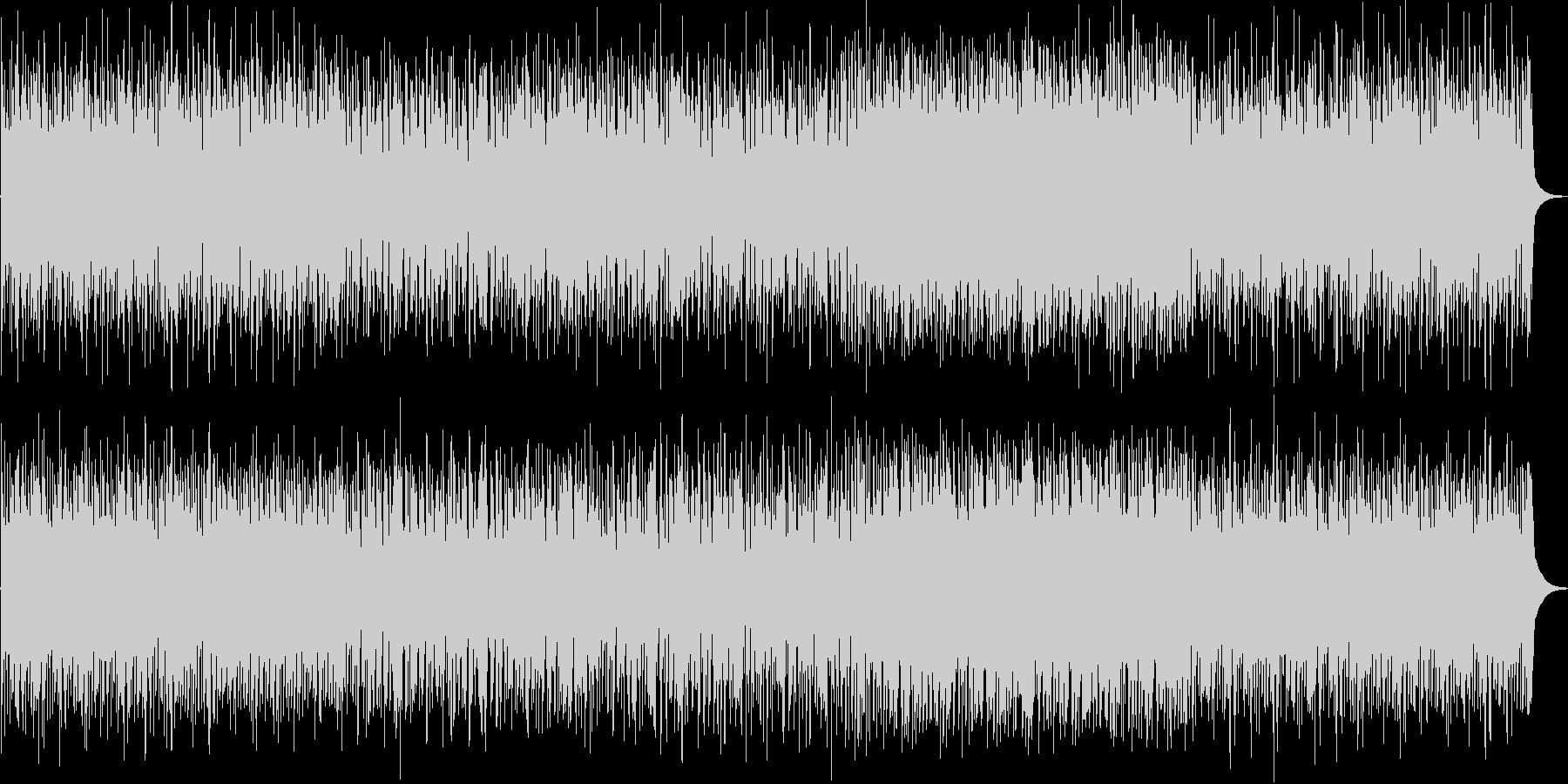 疾走感のあるピアノトリオの未再生の波形