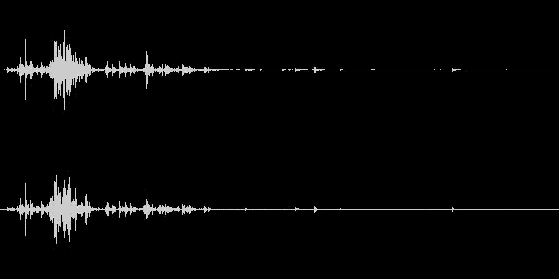 チャフチャス。アンデス地方の打楽器。の未再生の波形