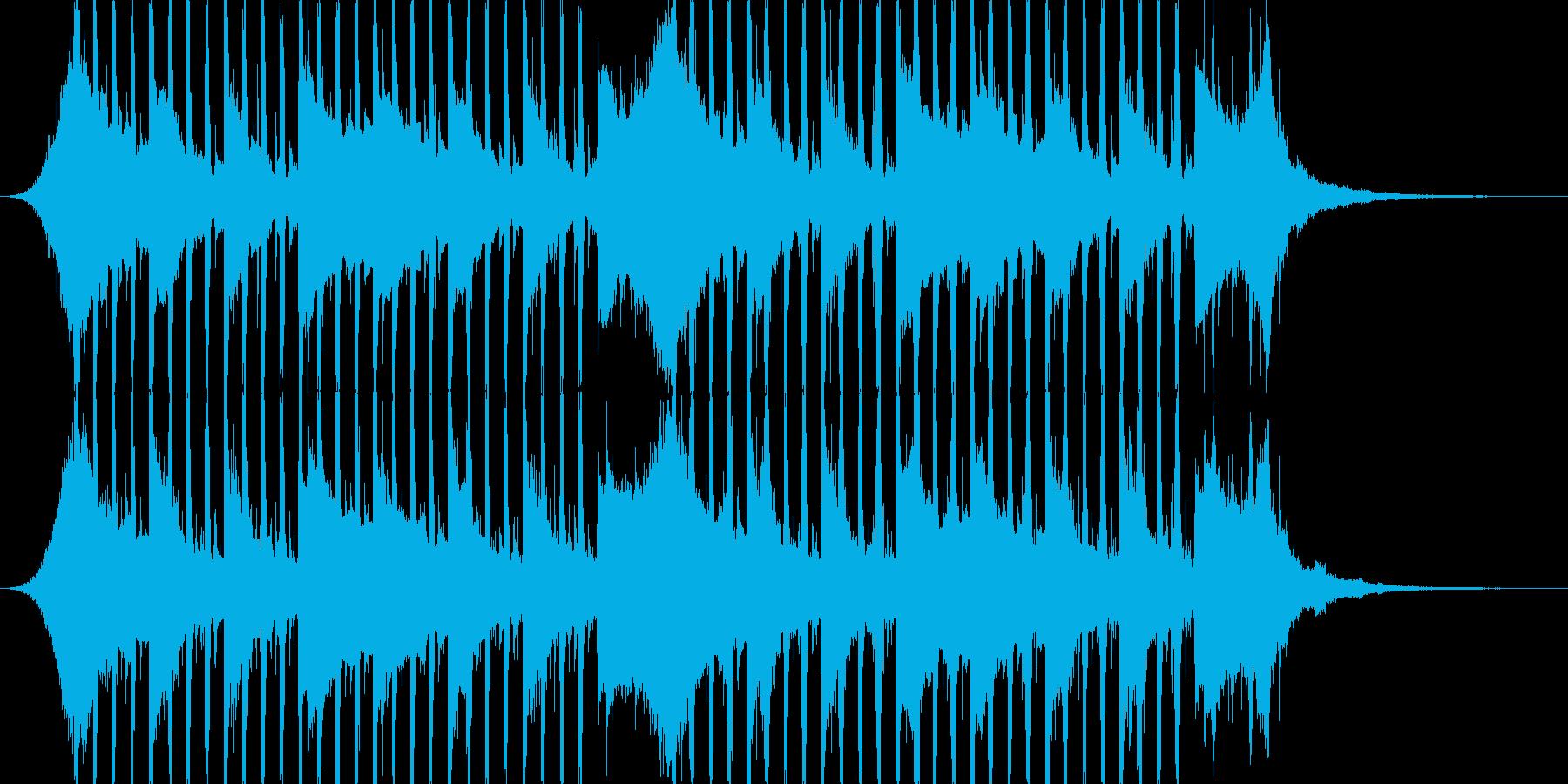 企業VP向け、爽やかポップ4つ打ち5-2の再生済みの波形