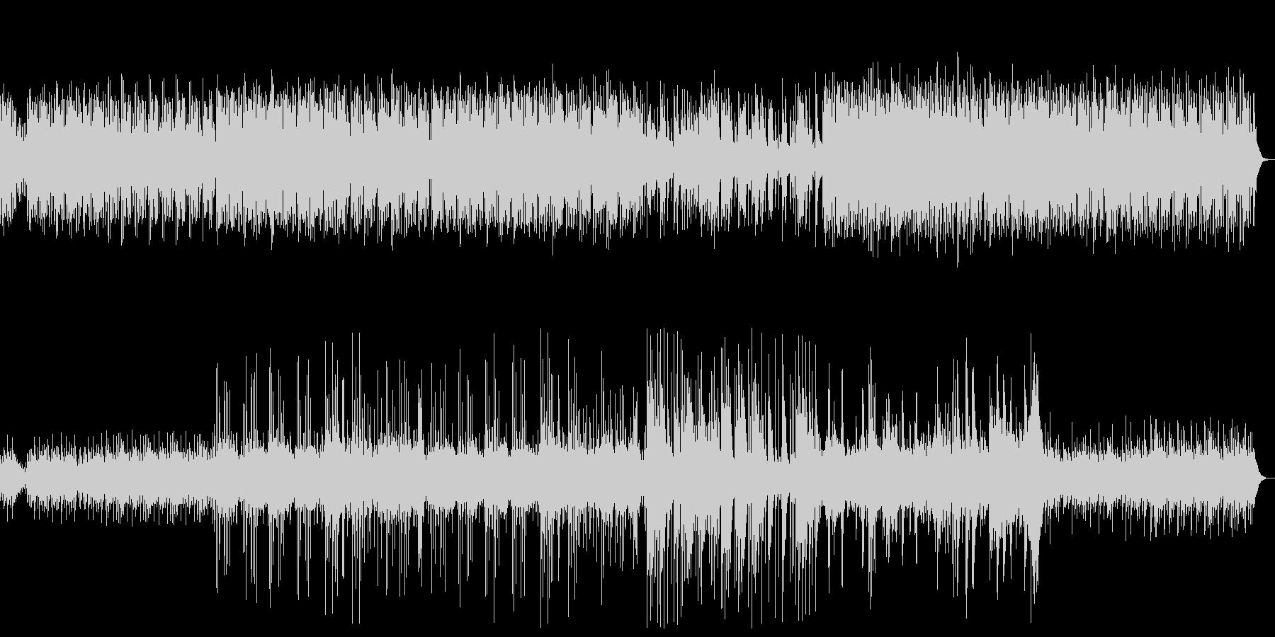 優しいピアノと自然音のヒーリングの未再生の波形