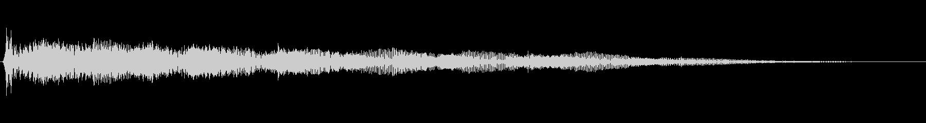 アニメ的ほのぼの系汗汗(あせあせ)音の未再生の波形
