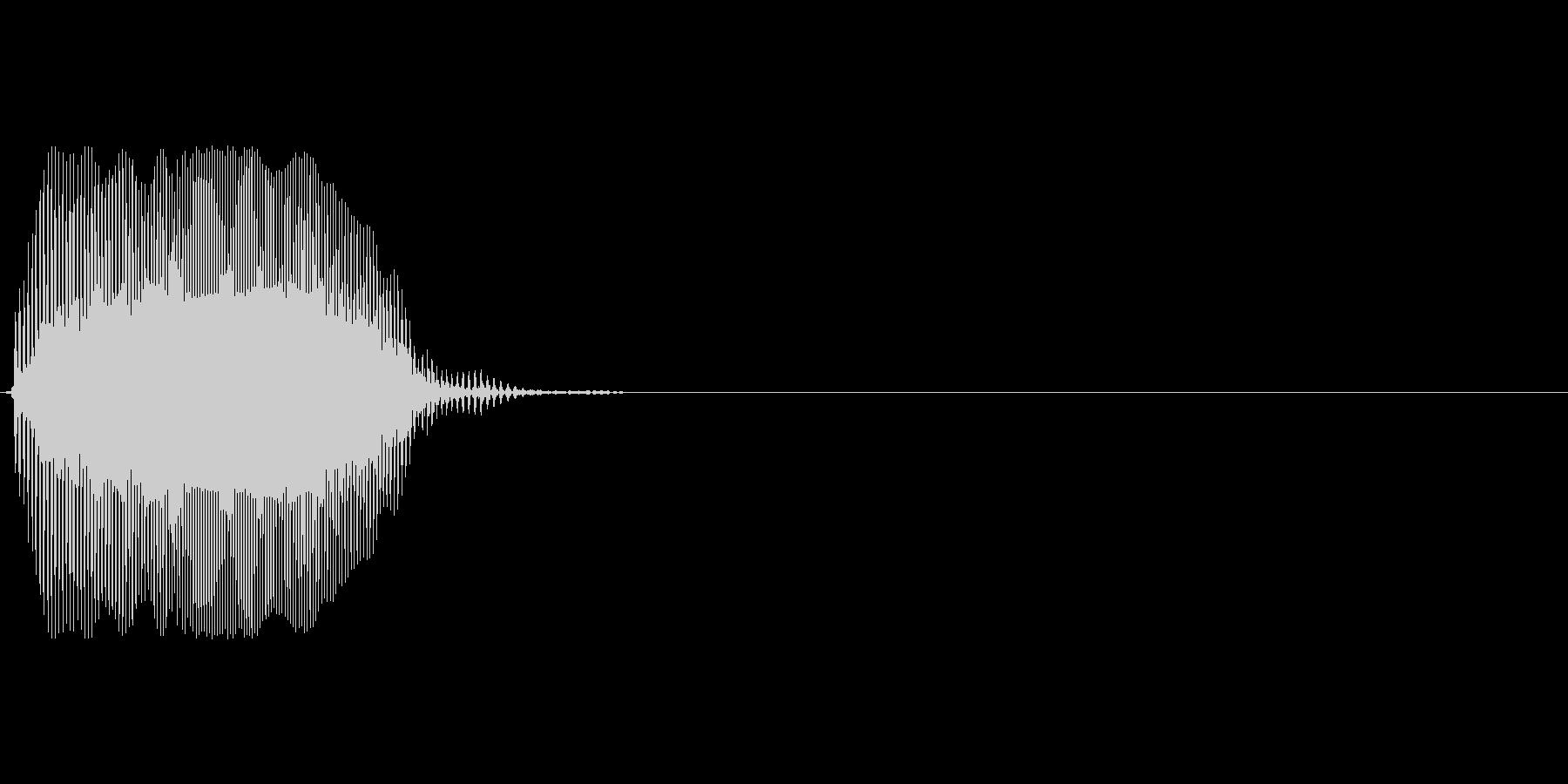 Eの未再生の波形