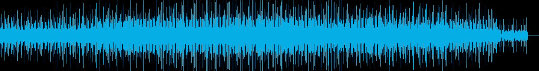 疾走感が気持ち良いエレクトロビートの再生済みの波形