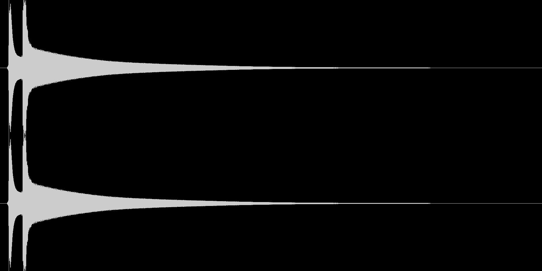 【SE】ピキーン01(シンプル)の未再生の波形
