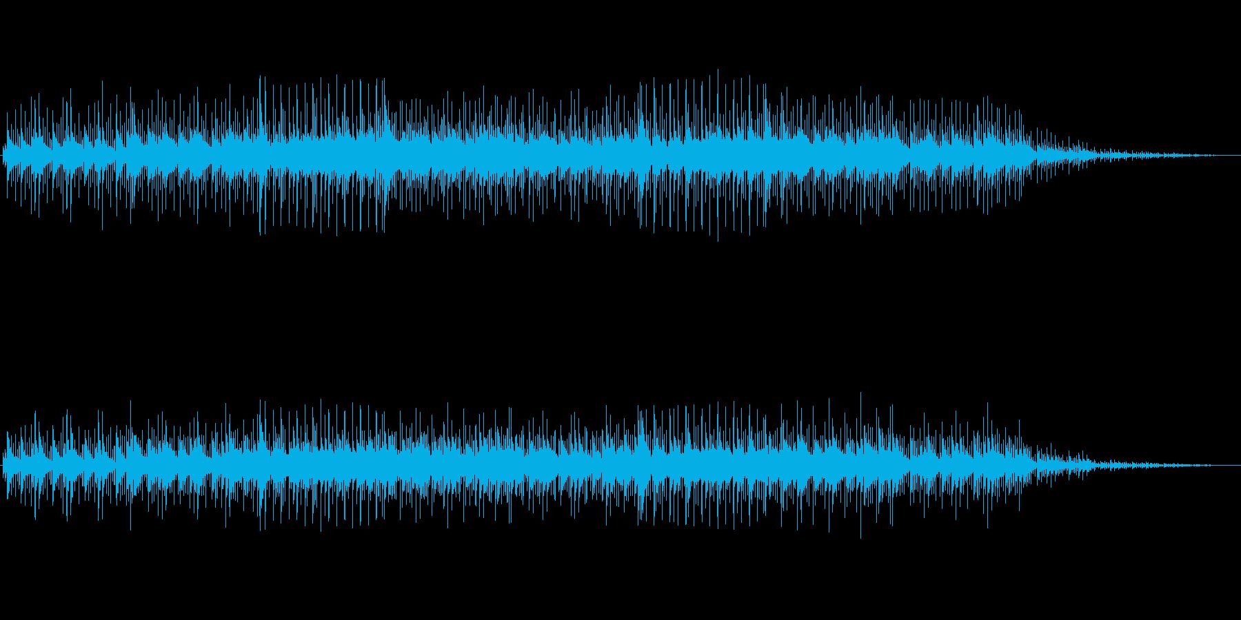 トーク番組向き透明感のある神秘的サウンドの再生済みの波形