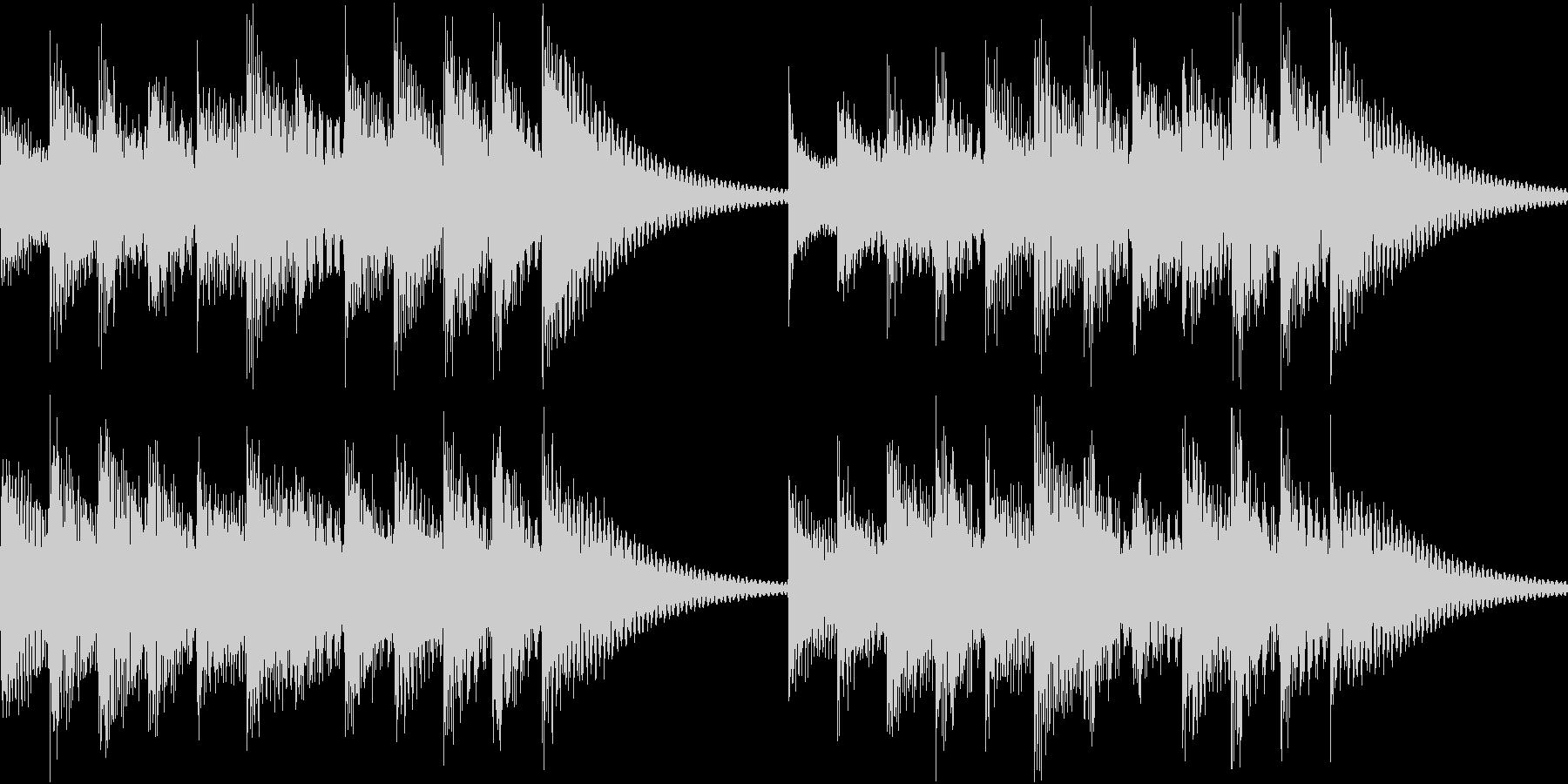 シンプルベル お知らせ ハテナ ? 06の未再生の波形