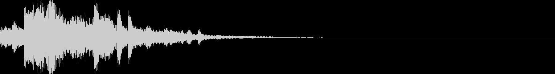 システム音06_シンセ(和風)の未再生の波形