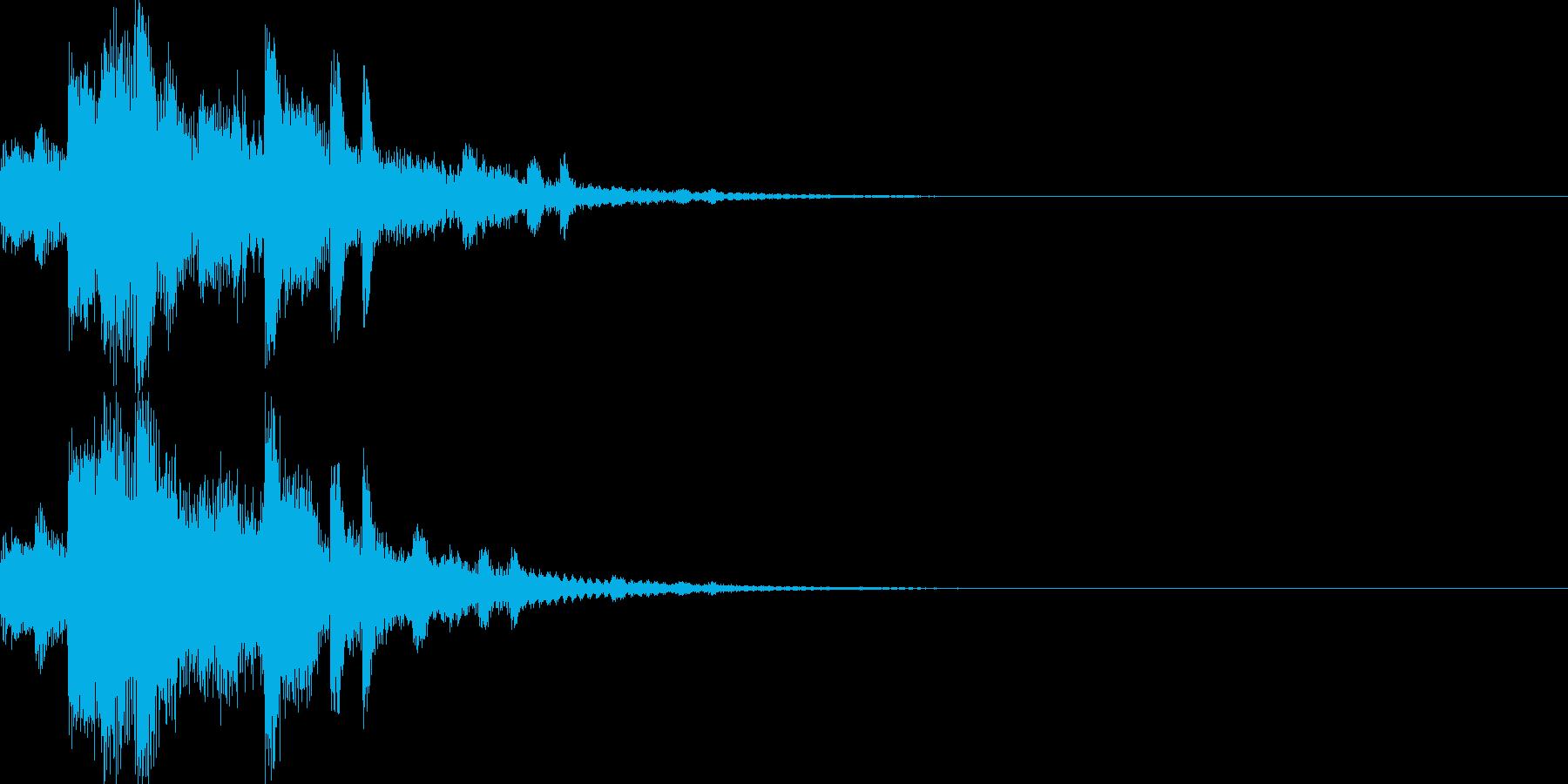 システム音06_シンセ(和風)の再生済みの波形