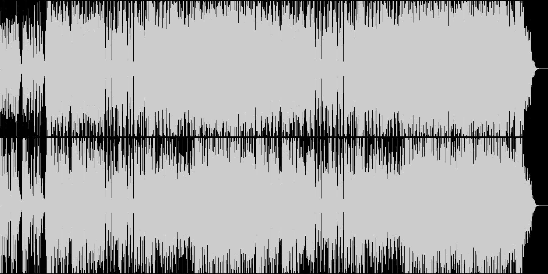結婚式 二次会 映像 ウェディングBGMの未再生の波形