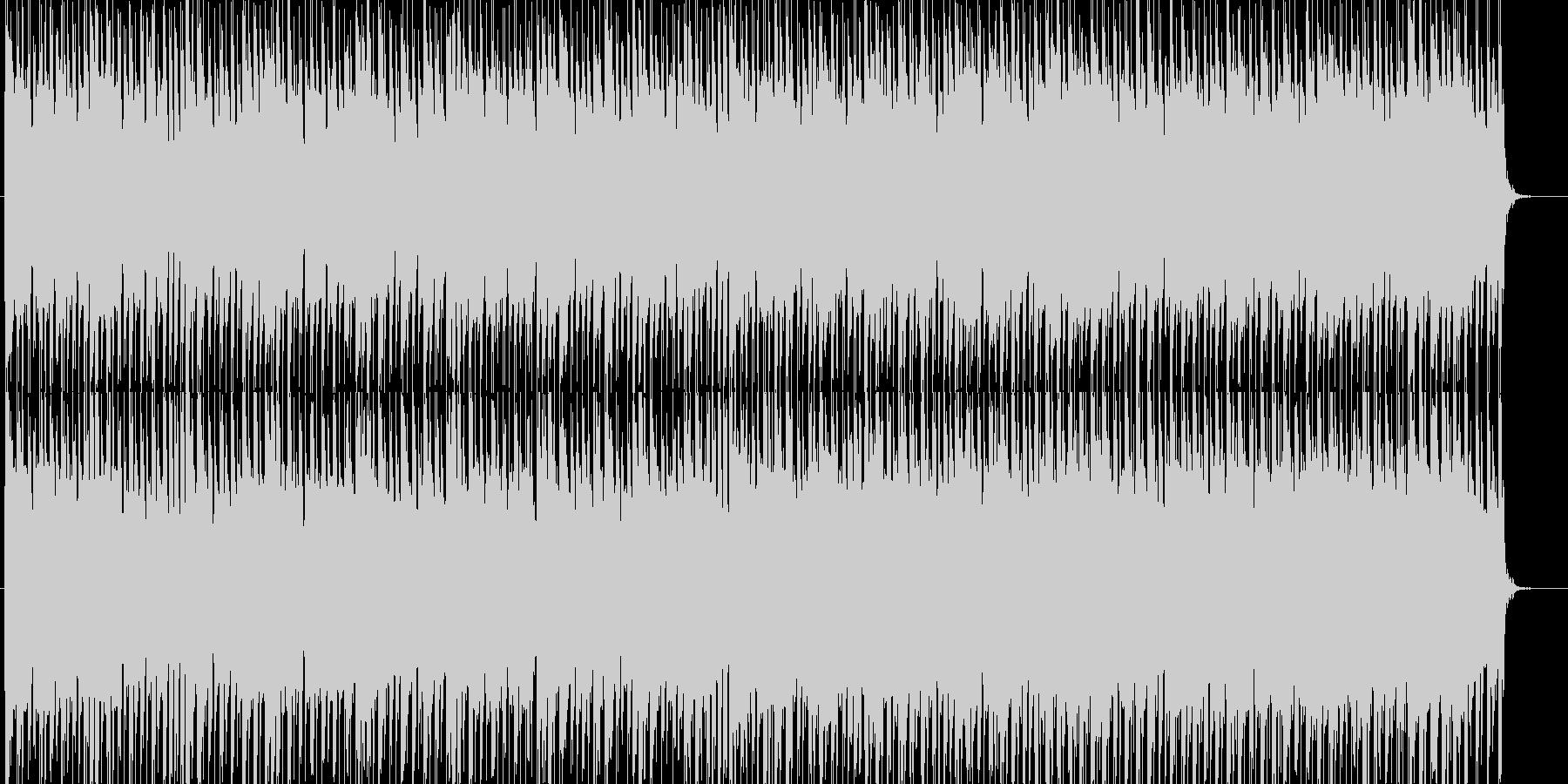 シューティング・パズル向けのテクノポップの未再生の波形