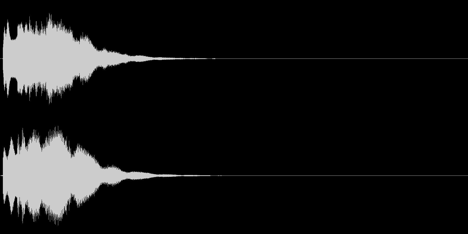 キラキラーン(超綺麗クリスタルな効果音)の未再生の波形