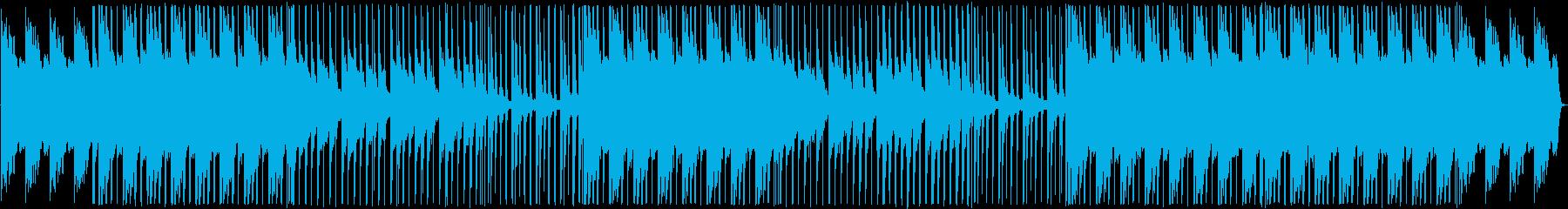 桜舞い散るような凛とした雰囲気のBGMの再生済みの波形