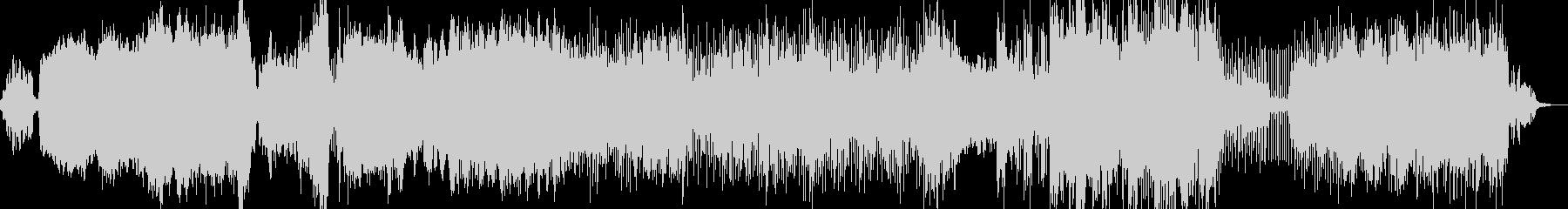 エスニック風の曲の未再生の波形
