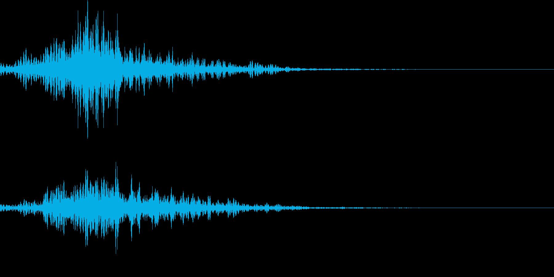 170_通り過ぎる4の再生済みの波形