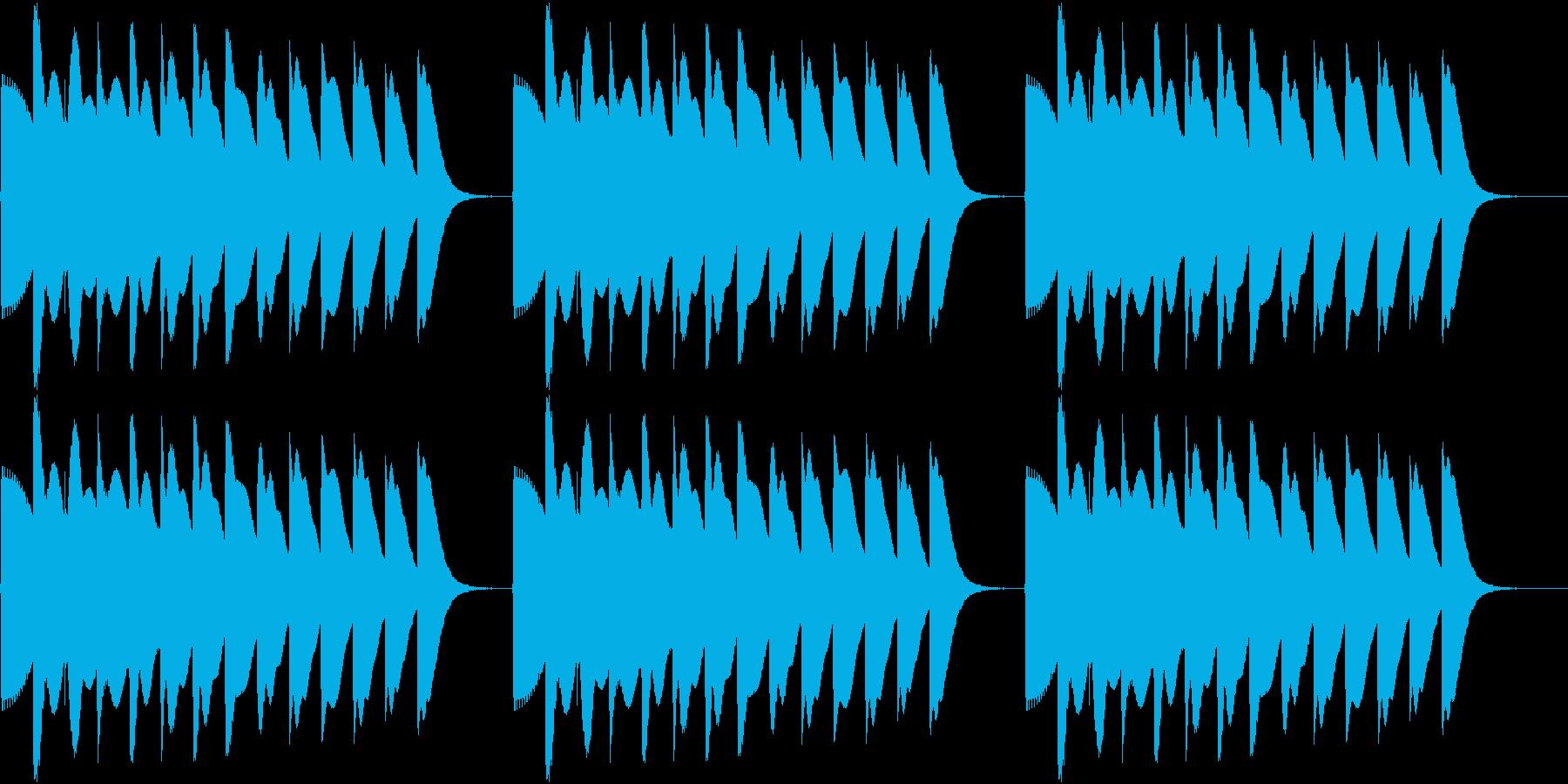 Game 懐かし昭和ゲーム台 リーチ音2の再生済みの波形