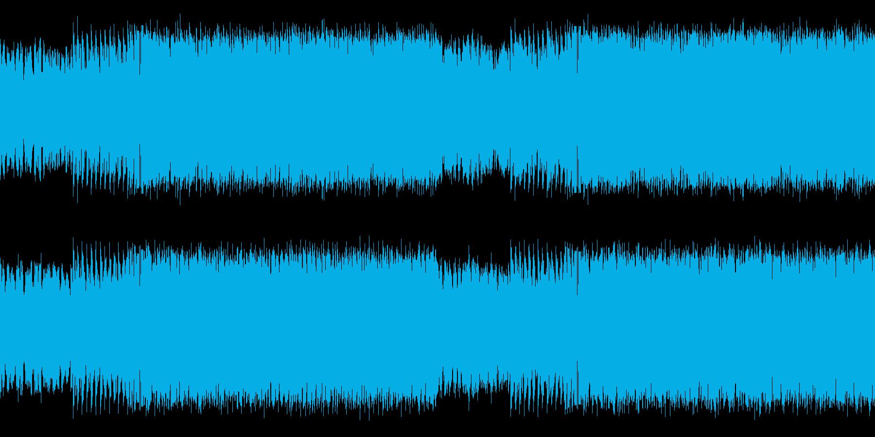 幻想的で勇壮な雰囲気のハウスミュージックの再生済みの波形