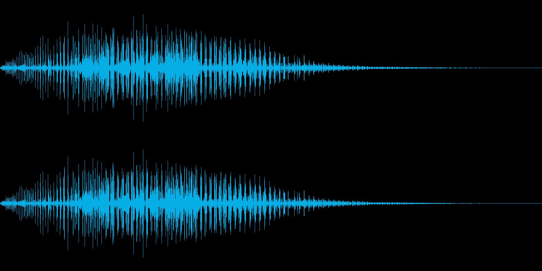ギューン(ワープ/転送装置/SF)の再生済みの波形